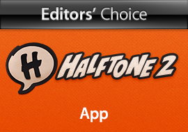 Editors' Choice: Halftone 2, App