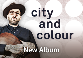 City and Colour: New Album