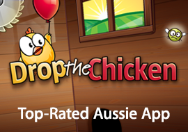 Drop the Chicken: Top-Rated Aussie App