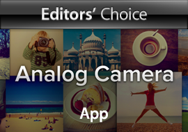 Editors' Choice: Analog Camera, App