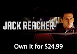 Jack Reacher: Own It for $24.99