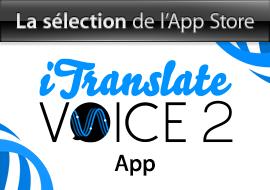 La sélection de l'App Store : iTranslate Voice 2