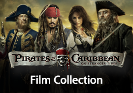 Pirates of Caribbean Film Collection