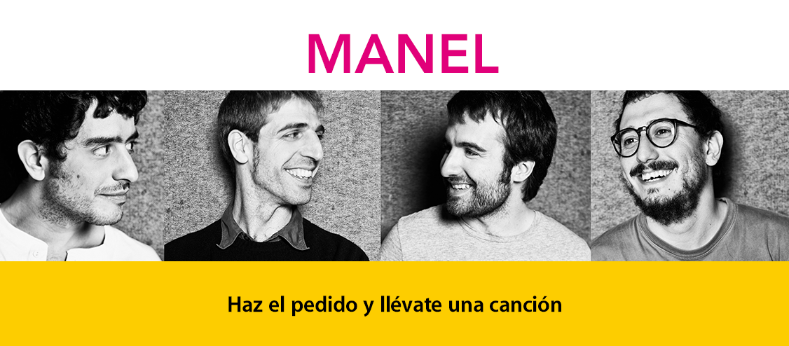 Pedido anticipado: Manel