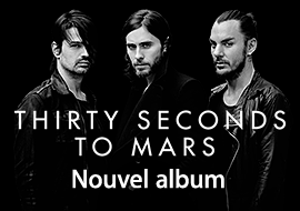 THIRTY SECONDS TO MARS - Nouvel album
