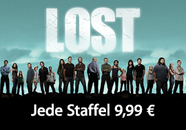 Lost: Jede Staffel 9,99 €