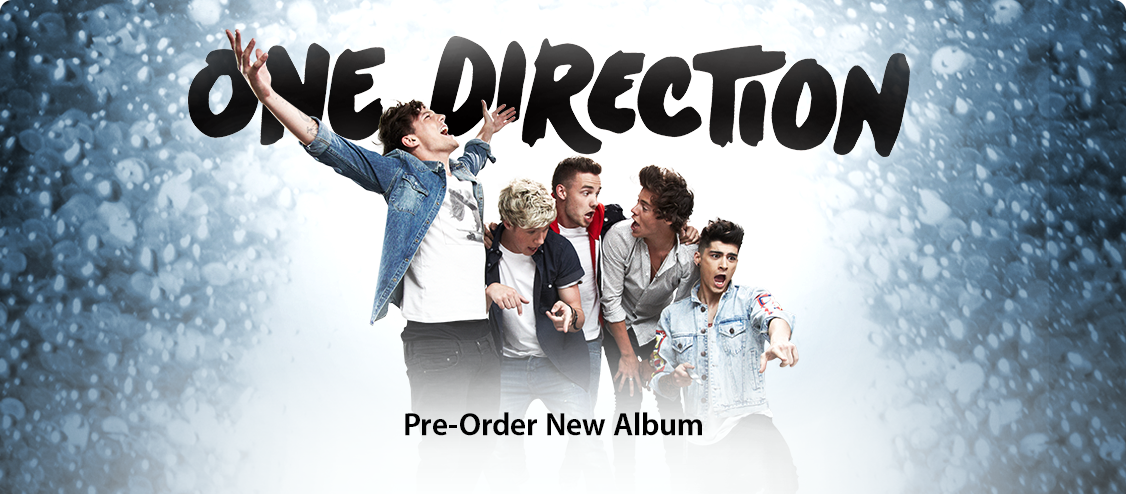 One Direction: Pre-Order New Album
