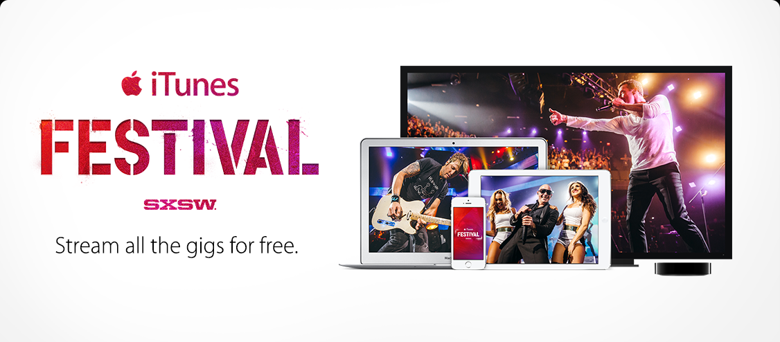 iTunes Festival at SXSW: Stream all the gigs for free.
