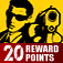 Mafia Wars 20 Reward Points FREE