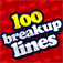 100 Breakup Lines Icon