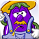 Mr. Veggie Head – Eggplant Farmer John (toddler, preschool, & school age fun) Icon