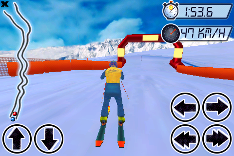 Alpe d'Huez SkiCross Screenshot