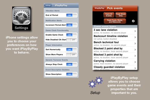 iPlayByPlay Basketball Scorekeeper Screenshot