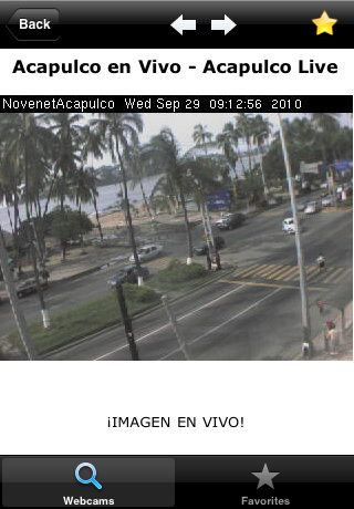 Mexico Live Cameras Screenshot