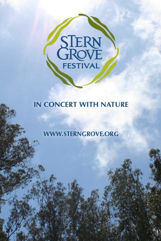 Stern Grove Festival free app s=creenshot 1