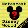 """Walt Disney World Secrets Gold!"" Notescast Icon"