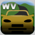 West Virginia Driver License Practice Test for iPad Icon