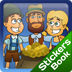 Hansel Gretel Stickers Book Icon