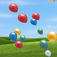 Flying Balloons Icon