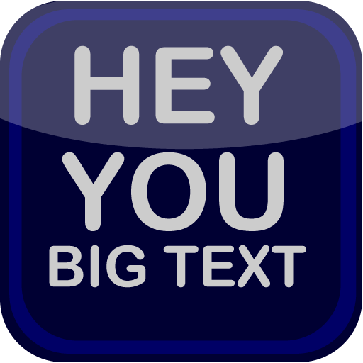 Hey You Big Text