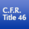 C.F.R. Title 46: Shipping Icon