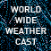 World Wide Weather Cast Icon