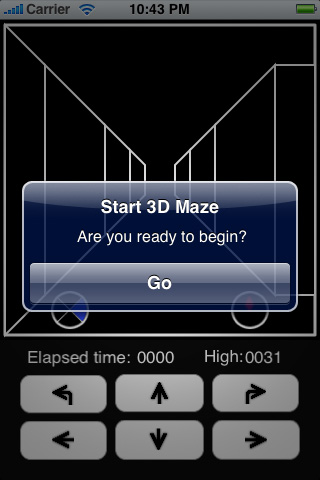 Simple Maze 3D Screenshot