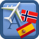 Traveller Dictionary and Phrasebook Norwegian – Spanish Icon