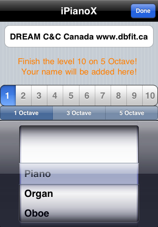 iPianoX Screenshot