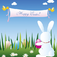 Happy Easter Slide Puzzle Icon