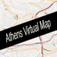 Athens, Greece Virtual Map Icon