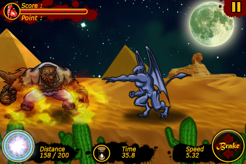 Werewolf Rush Screenshot