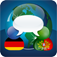SpeechTrans Portuguese German Translator with Voice Recognition Powered by Nuance maker of Dragon Naturally Speaking Icon