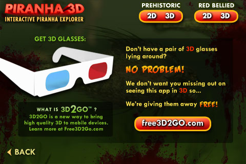 Piranha 3D Screenshot