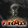 Fire Stick Man Icon