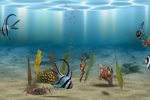 3D Aquarium Screenshot