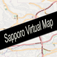 Sapporo, Japan Virtual Map