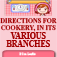 Directions for Cookery, in its Various Branches by Eliza Leslie (BTN) Icon