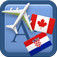 Traveller Dictionary and Phrasebook Canadian French – Croatian Icon