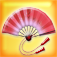 Uchiwa : beautiful virtual chinese fan 3D Icon