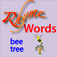 Bubble Rhyme for Kids to Learn to Read Icon