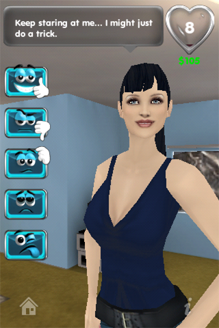 My Virtual Girlfriend Screenshot