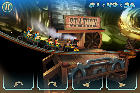 Wild West 3D Rollercoaster Rush FREE Screenshot