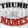 Thumb Names by Location Icon