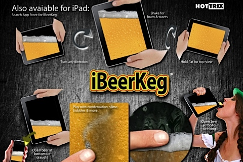 iBeer (5 Beers & Coffee! Milk, Champagne, Chocolate, Water, Cola, Celebrity Voices etc. available) Screenshot