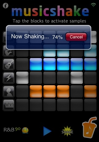 Musicshake Screenshot