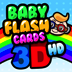 Baby Flash Cards 3D HD Icon