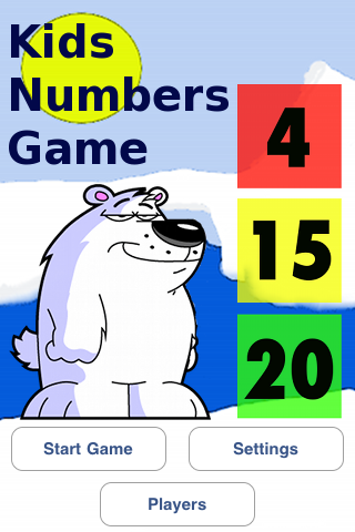 Kids Numbers Game Screenshot