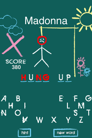 Hangman Music Screenshot