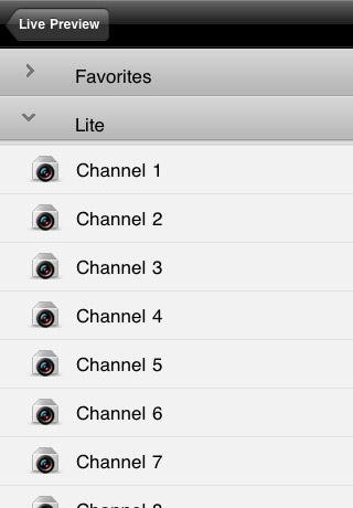 iPad Image of Alien DVR